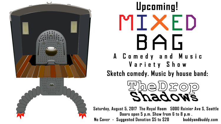 Mixed Bag : S3 E3 – Upcoming Show August 5th