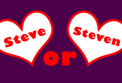 Mixed Bag – Steve or Steven